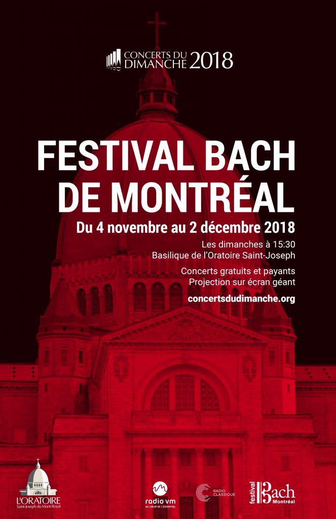 Festival Bach Montréal 2018 - L'Oratoire Saint-Joseph