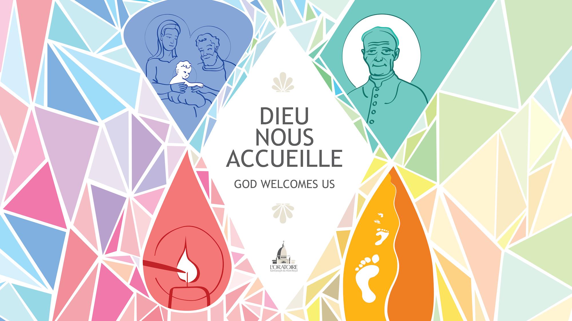 Notre nouveau thème pastoral : Dieu nous accueille