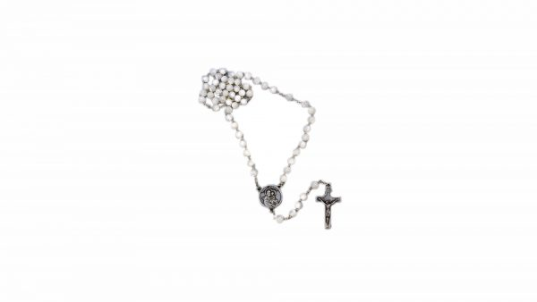 Chapelet Saint-Frère-André nacré / Saint Brother André pearly rosary