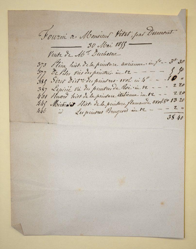 Archive trouvée dans l'ouvrage d'Adolphe Siret