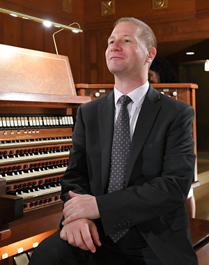 Johann Vexo, organiste
