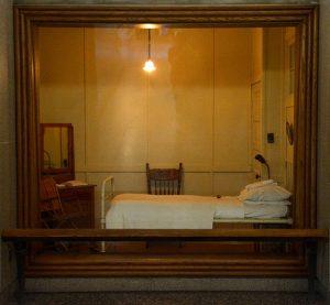 Chambre d'hôpital où frère André rend l'âme le 7 janvier 1937