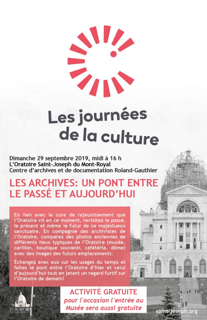 Journees de la culture 2019