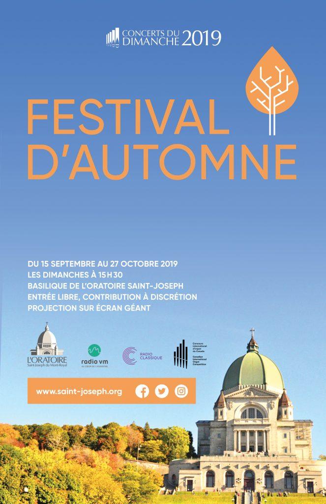 Concerts du dimanche - Festival d'automne 2019