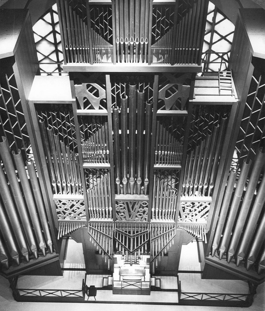 Orgue Beckerath - basilique