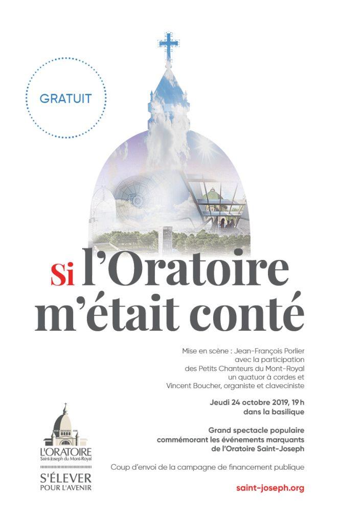 Affiche concert Si lOratoire - 24 oct 2019