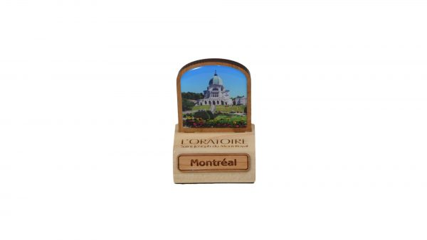 Bloc souvenir de l'Oratoire / Decorative Oratory wooden block