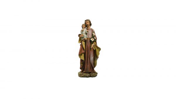 statue saint Joseph / Saint Joseph and Infant Christ statue