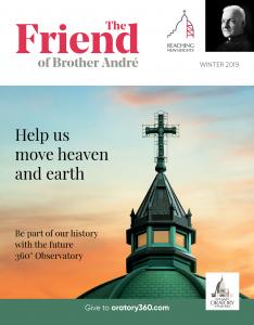 The Friend - Winter 2019 - Cover