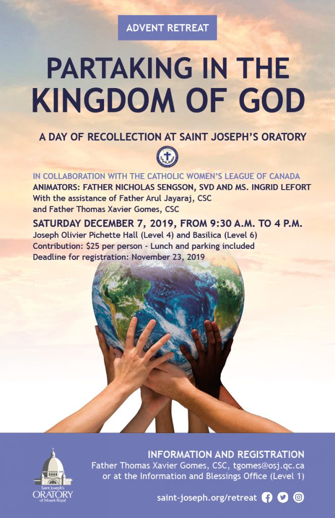 Advent Retreat - Partaking in the Kingdom of God