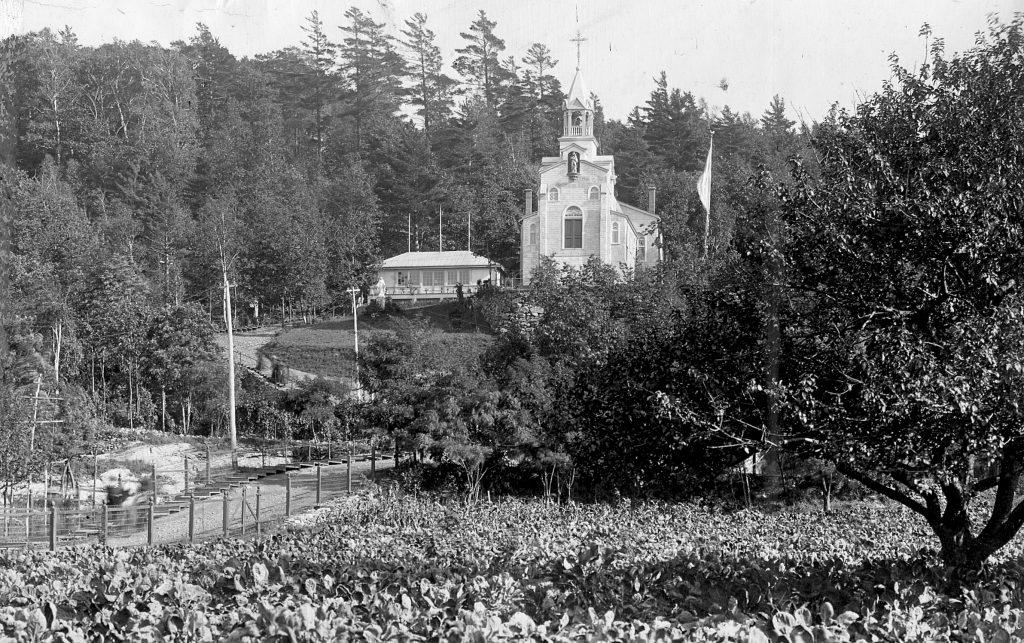 L'Oratoire Saint-Joseph vers 1910
