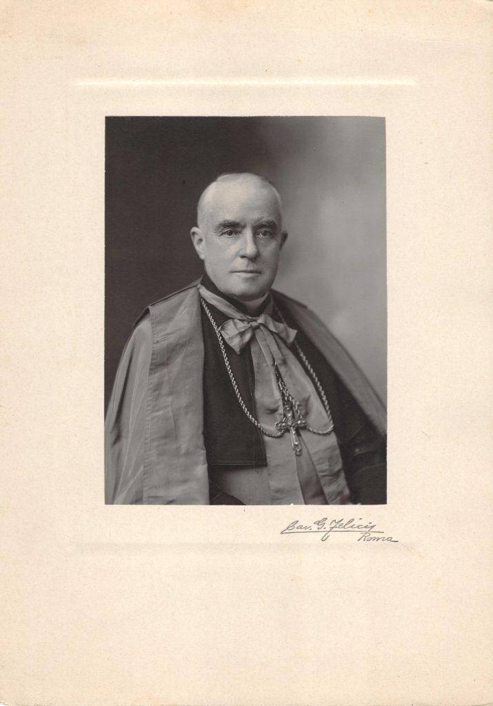 Portrait de Mgr Olivier Elzéar Mathieu du Diocèse de Régina