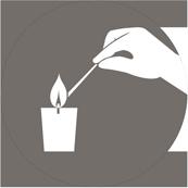 don en ligne - allumer un lampion - light a votive candle