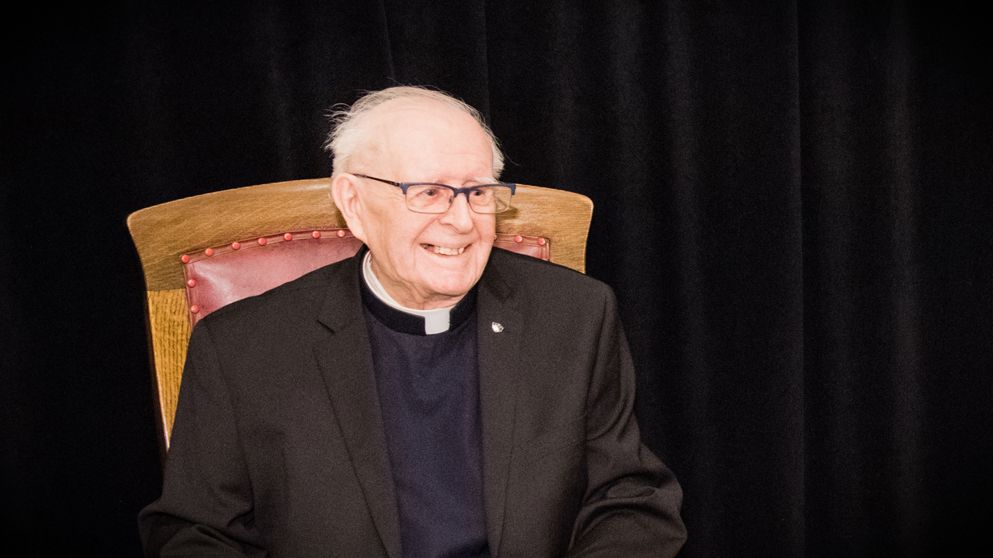 Death of Father Marcel Lalonde, CSC — A great builder passed away