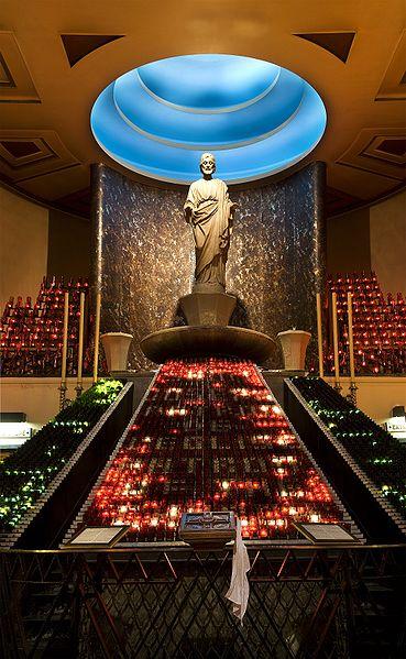 Statue de saint Joseph - chapelle votive