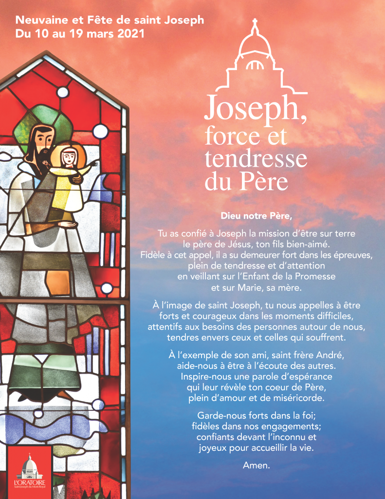 Prière Neuvaine à saint Joseph
