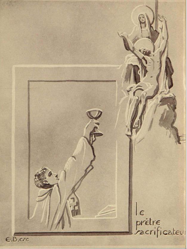 Illustration père Elphège-Marie Brassard, c.s.c.