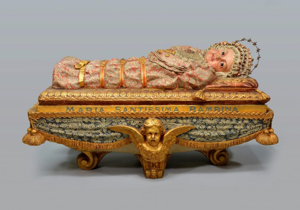 Statuette de la Maria Santissima Bambina,1973.261.1-2 © Musée de l'Oratoire